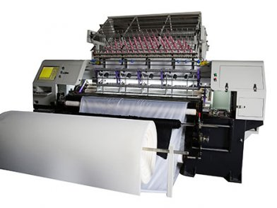 High Speed Shuttle Multi Needle Quilting Machine